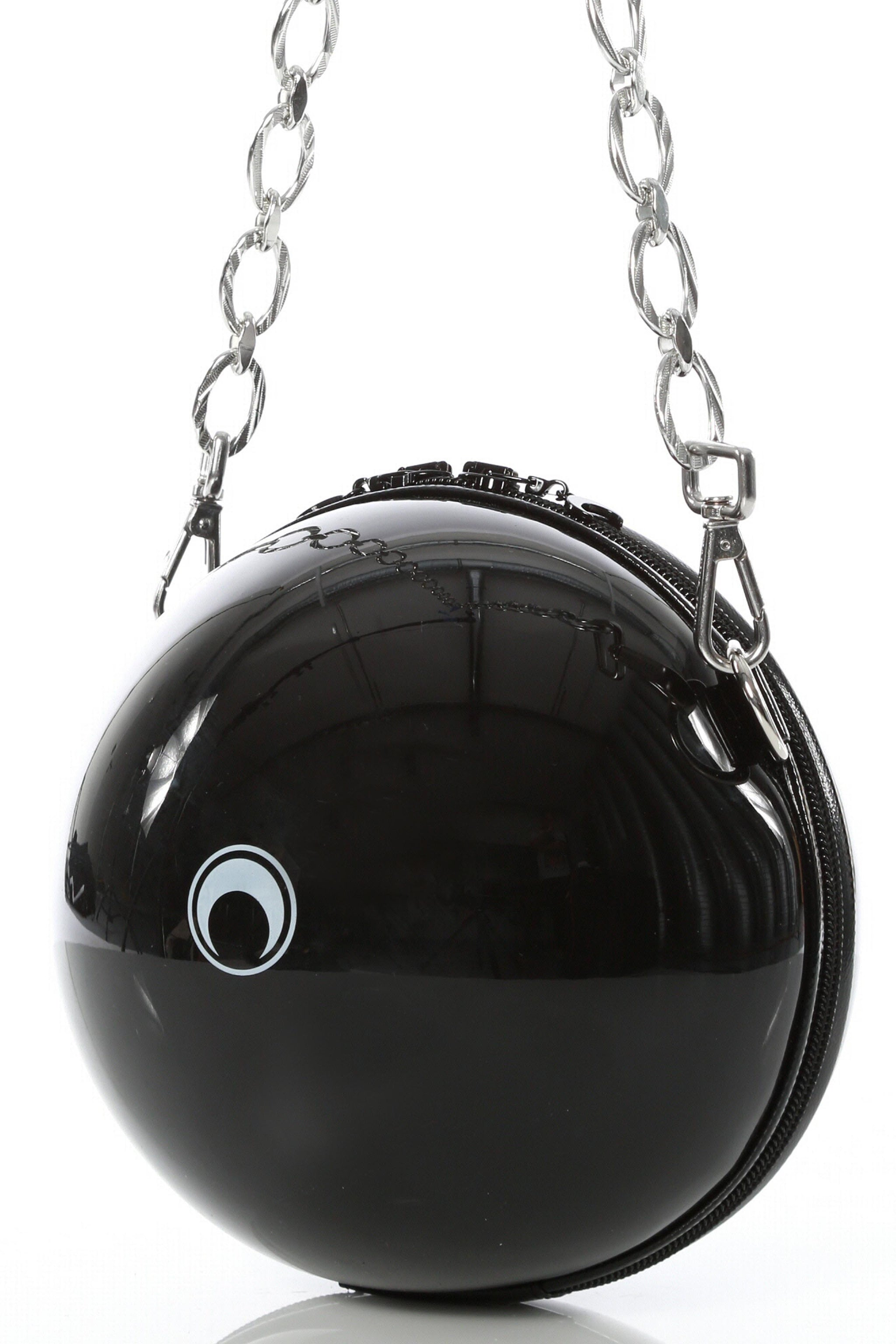 Big Ball Bag Black / Silver