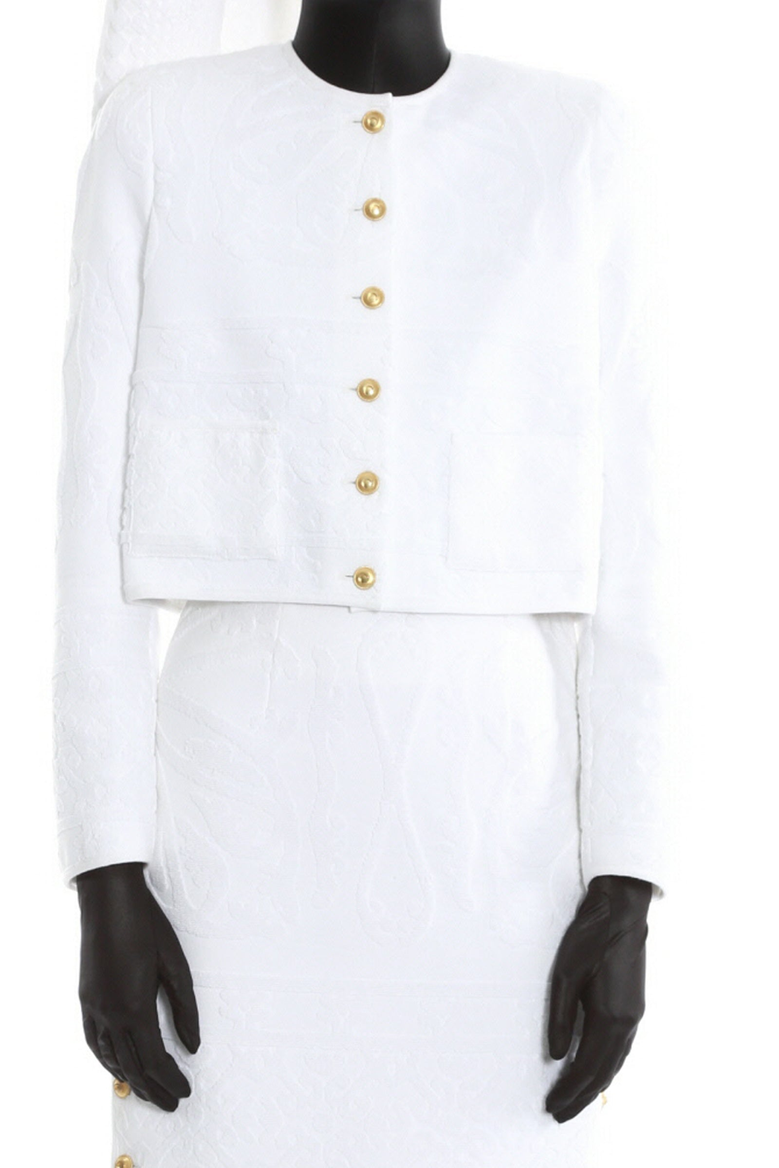 Regenerated Towel Jacket White