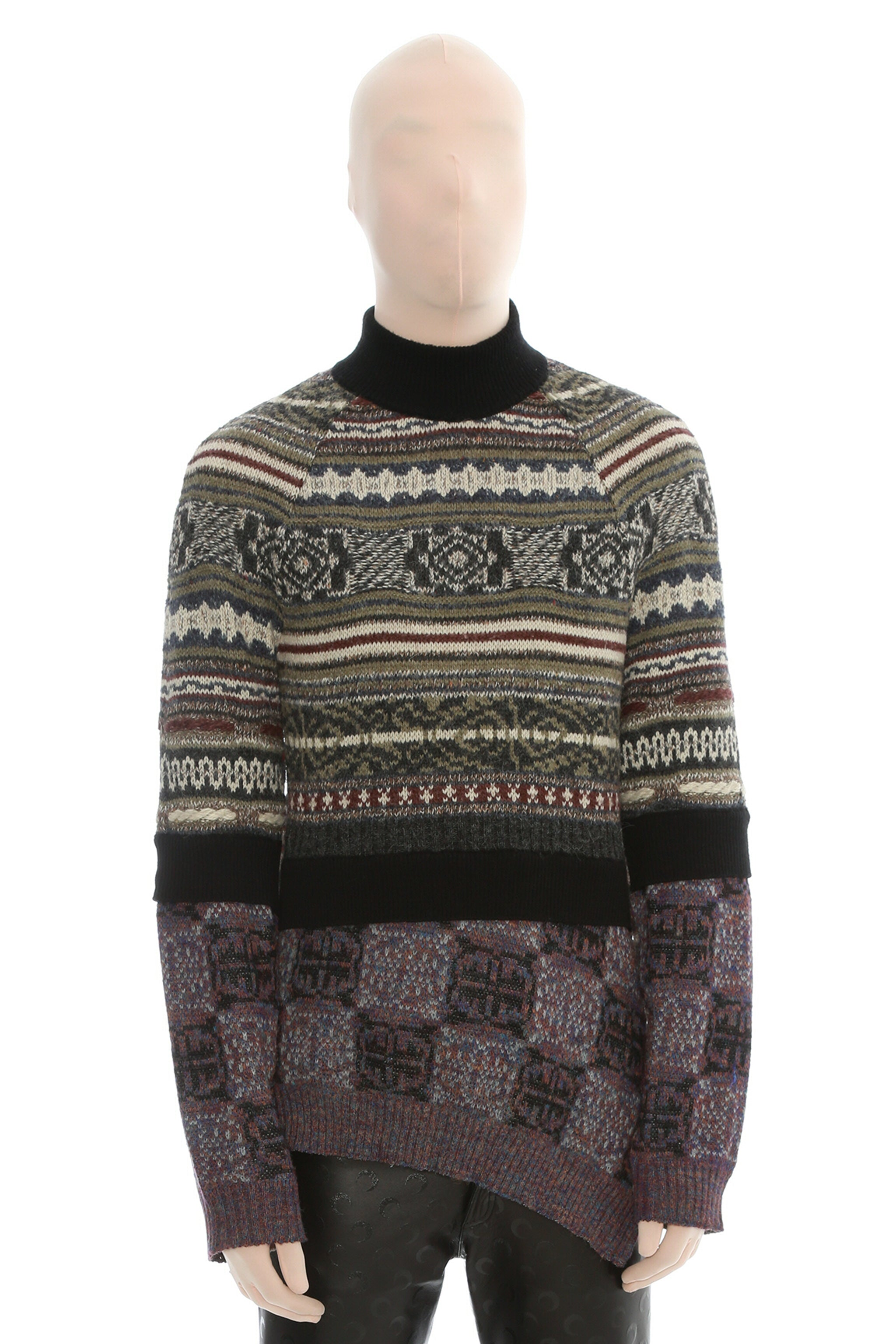 Regenerated Knit Melange Jumper