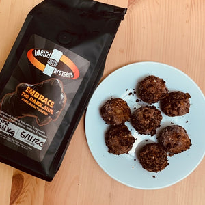 Weird Brew Balls (Energy Bites) (V) (Ve) (DF) (GF)