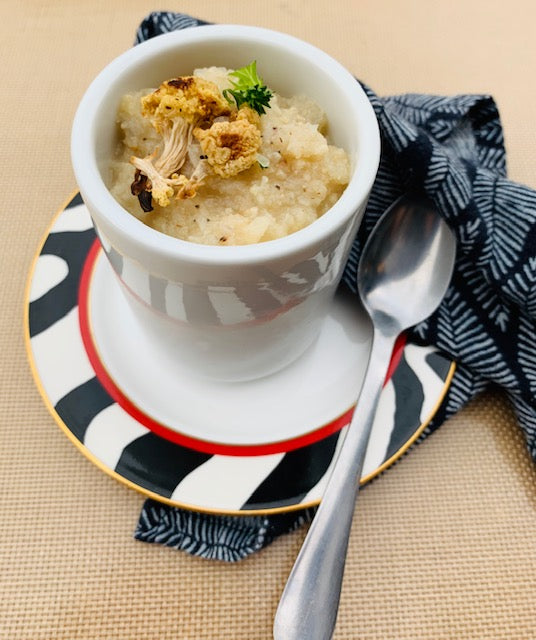 creamy roasted cauliflower soup (V) (Ve) (DF) (GF) (PB) (NF)