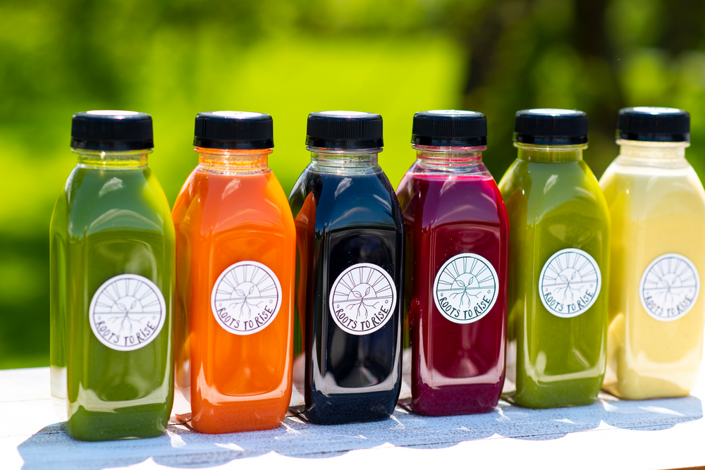 juice cleanse:  six, 12 oz. bottles