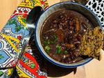 black bean soup (V) (Ve) (DF) (GF) (PB) (NF)