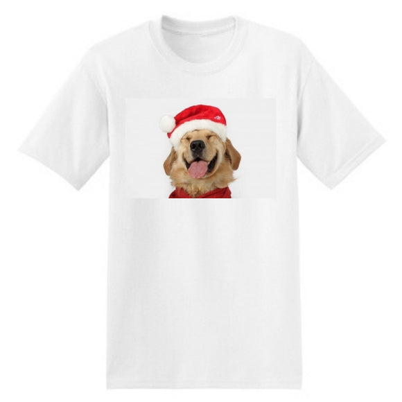 Happy Retriever Christmas Shirt