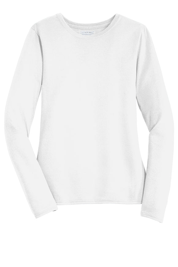 Women's White Long Sleeve Shirt