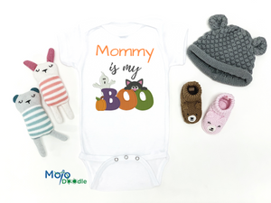 Mommy Is My Boo Baby Onesie