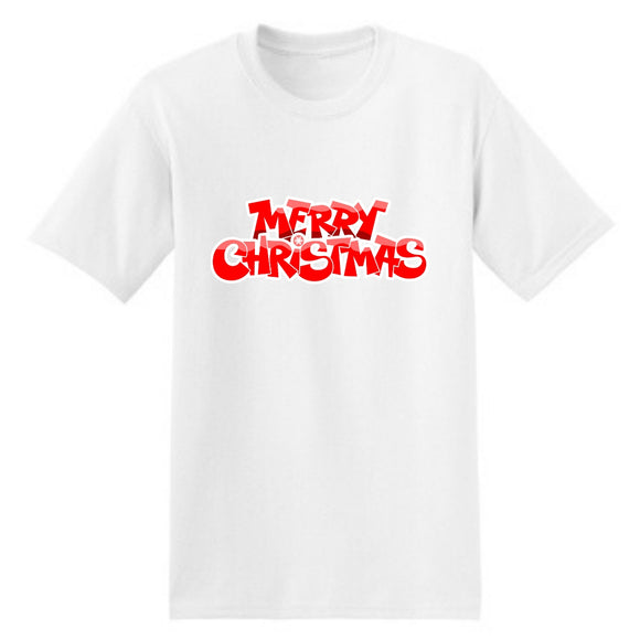 Merry Christmas Red T-Shirt