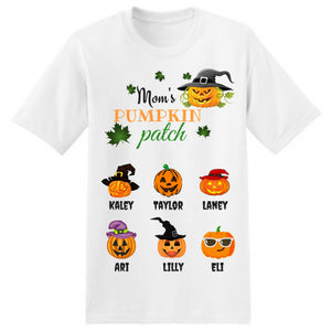 Mom's Pumpkin Patch T-Shirt