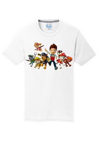 Paw Patrol Inspired Youth Shirt