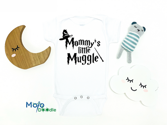 Mommy's Little Muggle Baby Onesie