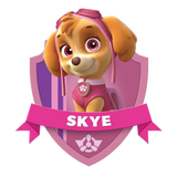 Skye Badge Paw Patrol Youth Shirt
