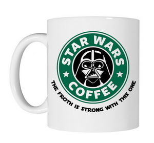 Star Wars Starbucks Coffee Mug