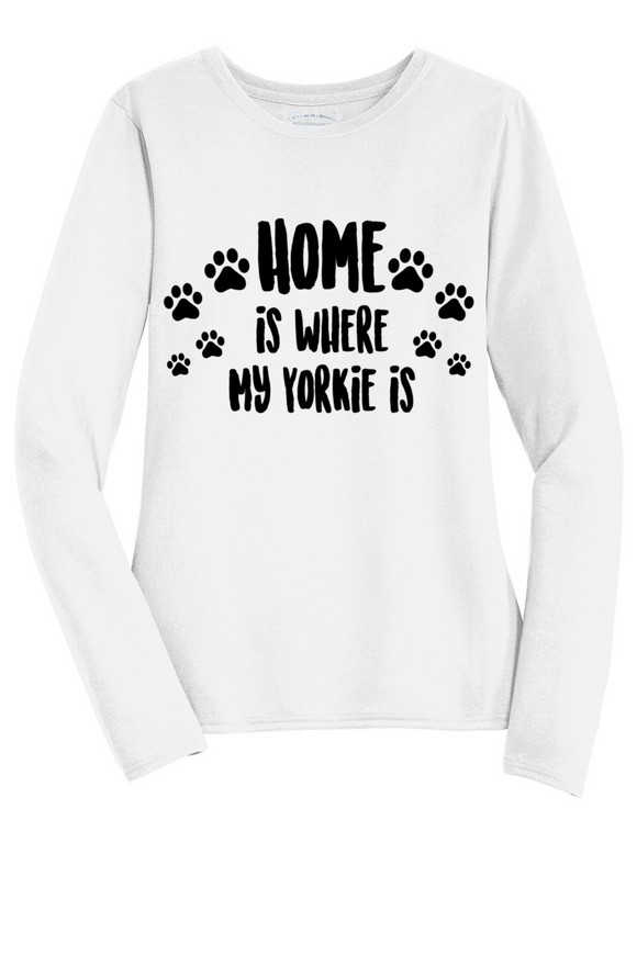Home Is Where My Yorkie Is