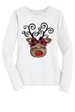 Women's Reindeer Christmas Shirt