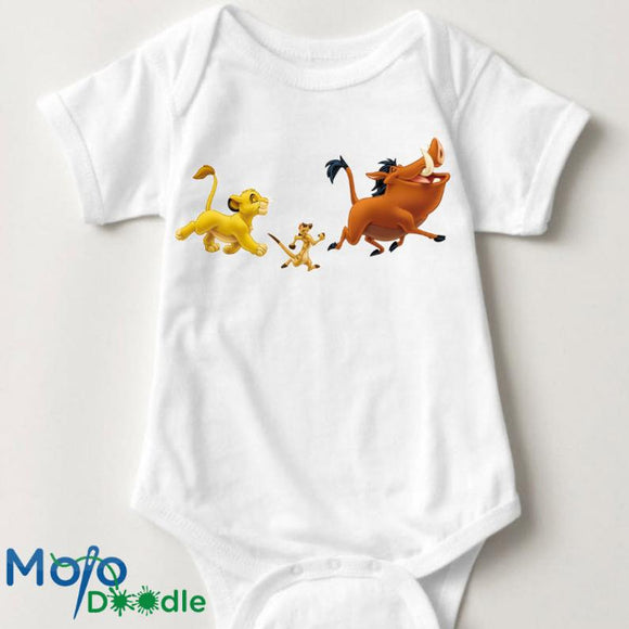 Inspired By Lion King Baby Onesie