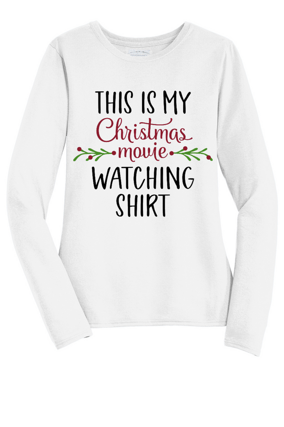 This Is My Christmas Movie Watching Shirt
