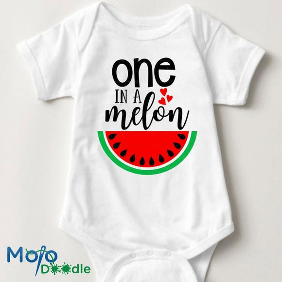 One In A Melon Baby Onesie