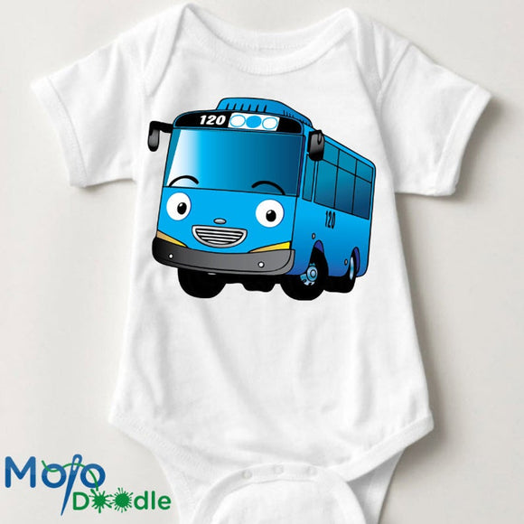 Tayo The Train Baby Onesie