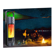 Load image into Gallery viewer, Dancing LED Flame Lantern with Bluetooth Speaker and Wireless Phone Charging