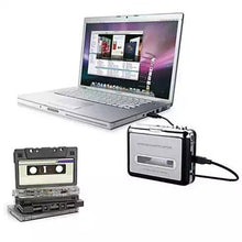 Load image into Gallery viewer, 2 in 1 Audio Cassette to MP3 Music converter - VistaShops - 1