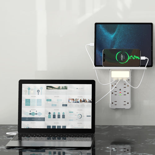 Safeguard Multi Charging Station For Phone Laptops And Gadgets