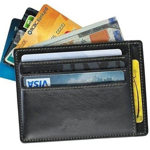 No Show Wallet With RFID Safe