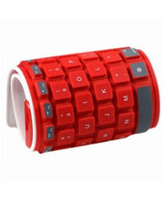 Load image into Gallery viewer, Type out of a BOX with Flexible silicone bluetooth keyboard