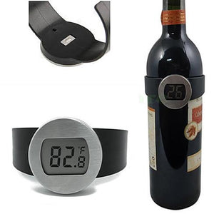 Wine Bottle Thermometer - Serve your wine at its perfect temp - VistaShops
