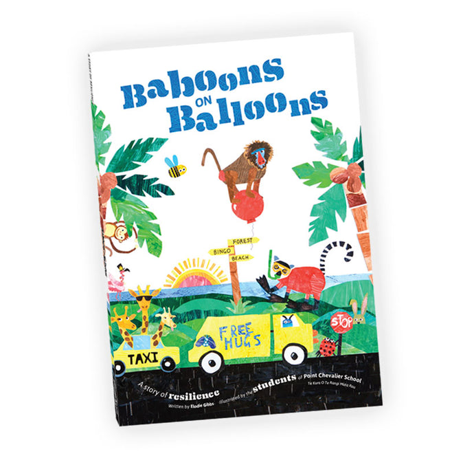1 x Baboons on Balloons<br><h5>Wildly fun & engaging</h5>
