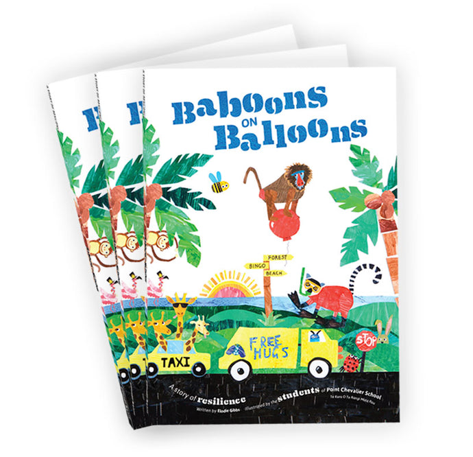 3 x Baboons on Balloons <br><h5>Only $16.67 each!</h5>