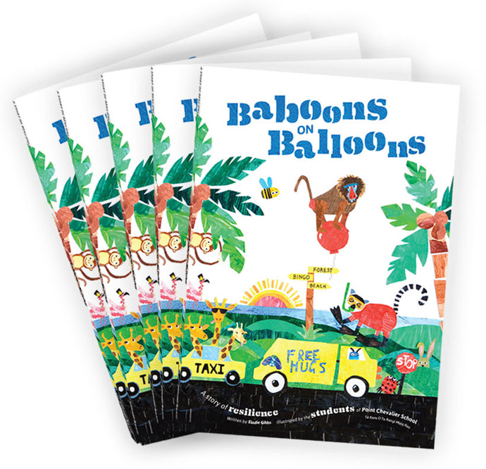 5 x Baboons on Balloons <br><h5>Only $14 each!</h5>