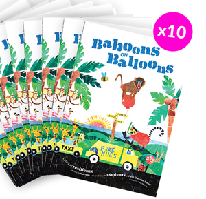 10 x Baboons on Balloons<br><h5>Wildly fun & engaging</h5>