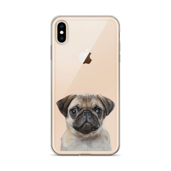 CUSTOM CLEAR PET IPHONE CASE