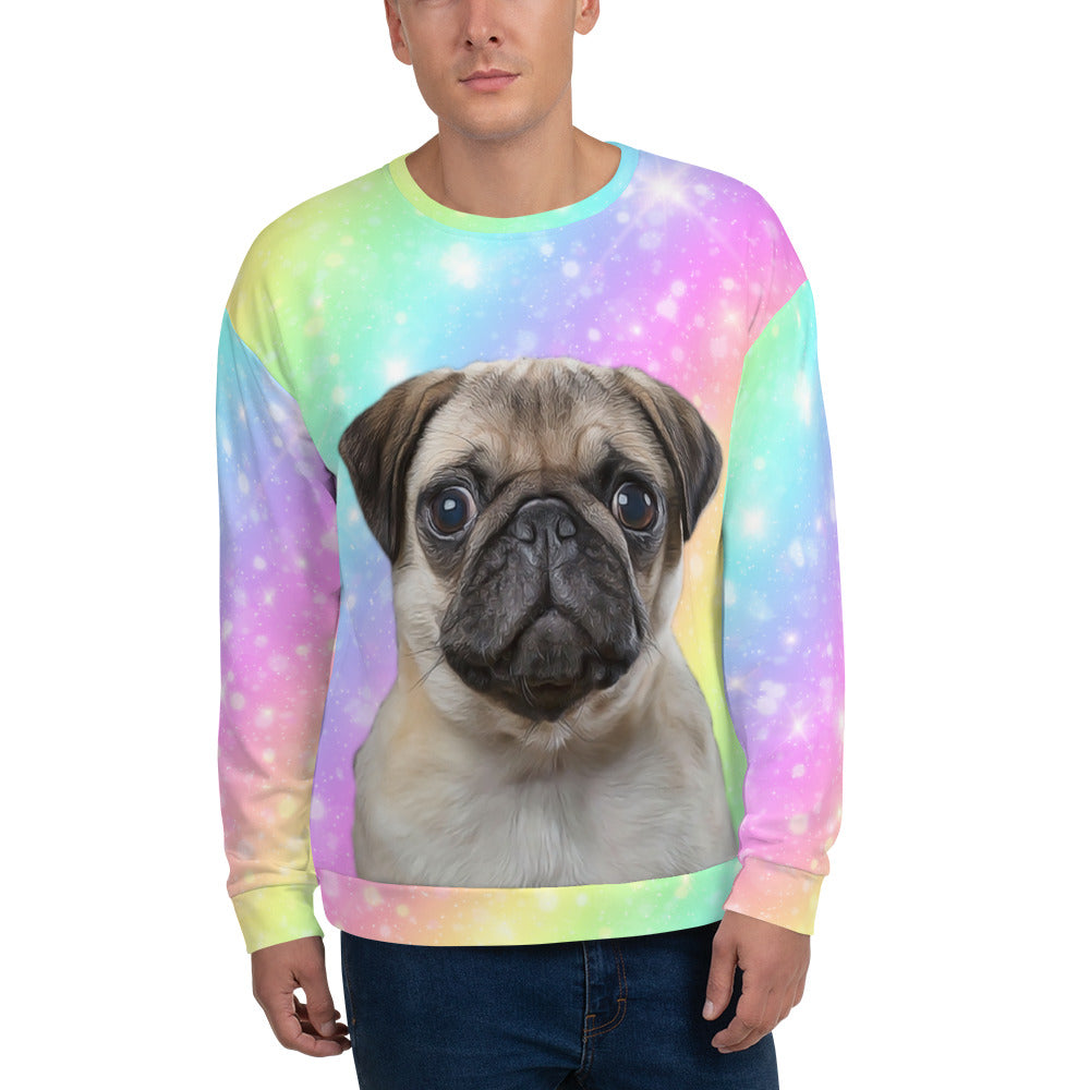 CUSTOM PET UNISEX SWEATSHIRT