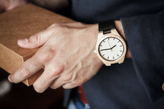 ENGRAVED WOODEN WATCH TO MY HUSBAND FALLING IN LOVE WITH YOU WAS BEYOND MY CONTROL