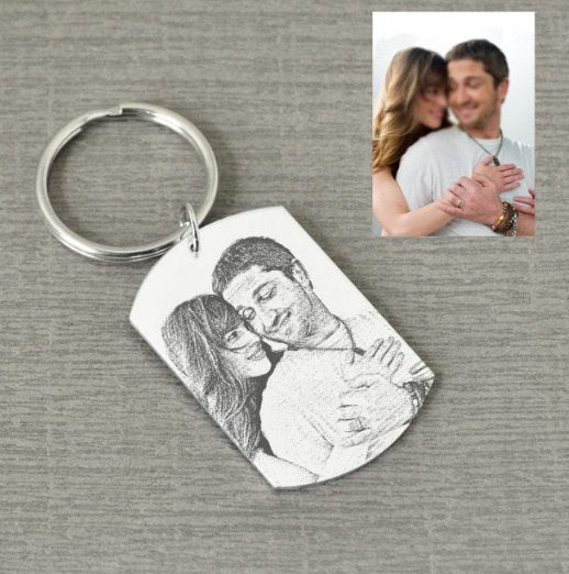 Personalized Keychain for Dad