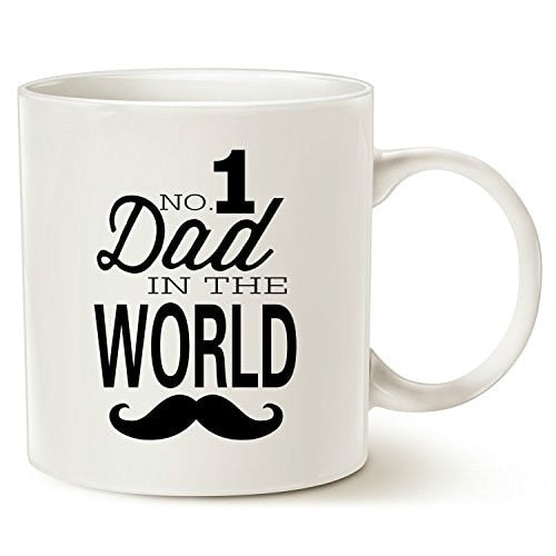 NO.1 Dad In The World Birthday Gifts for Dad