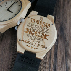 HOW MUCH YOU REALLY CARE - MAPLE WATCHES FROM DAUGHTER TO SON FOR DAD MEN'S WRIST WATCH BIRTHERDAY LIFT