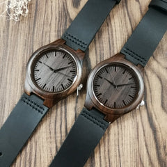 TO MY MOM ENGRAVED WOODEN WATCH I JUST WANT TO BE YOUR LAST EVERYTHING LUXURY WATCH FOR WOMEN
