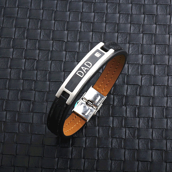 love DAD Leather Bracelet