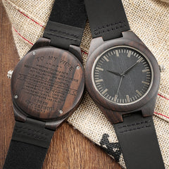 Family Customized Wood Watch Women Ladies Dress Watch I Love You Series Top Souvenir Gifts for Mom/Wife/Daughter Drop Shipping