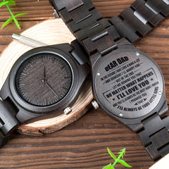BOBOBIRD Engraved Wood Men Watches for DAD Handsome Gift for Man Ebony Watch with Custom logo Wooden Band Wristwatch reloj mujer