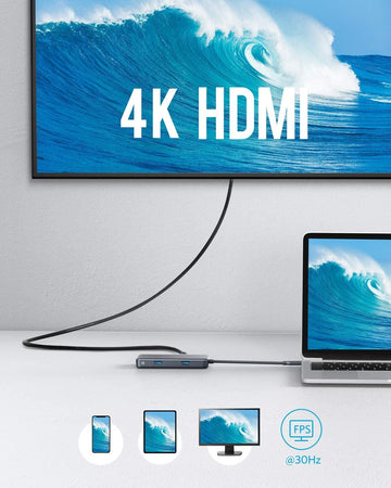 Anker USB C Hub, PowerExpand+ 7-in-1