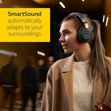 Jabra Elite 85h Bluetooth Over Ear Headphones with ANC and SmartSound Technology and Alexa Built-In