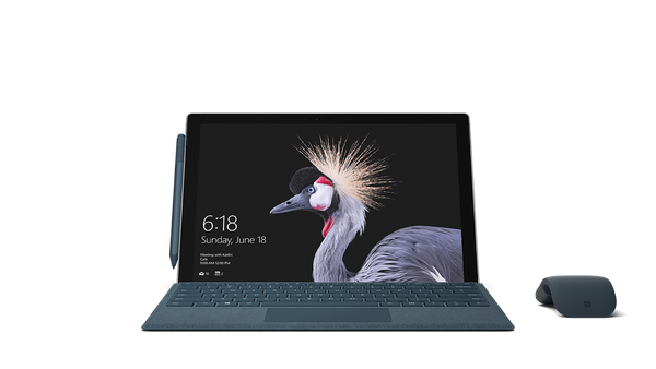 Surface Pro 6 - Platinum / Black