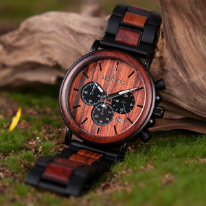 Men's Fashion Wooden Watch - YOUR PLANET MATTERS