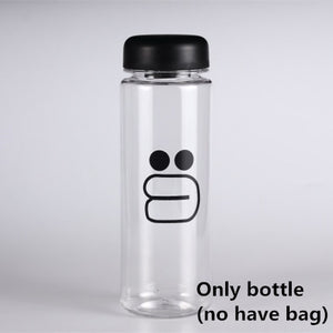 Glass Water Bottle - 500ml - YOUR PLANET MATTERS