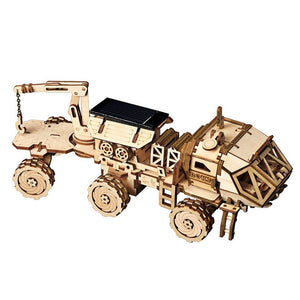 3D DIY Wooden Discovery Rover - YOUR PLANET MATTERS