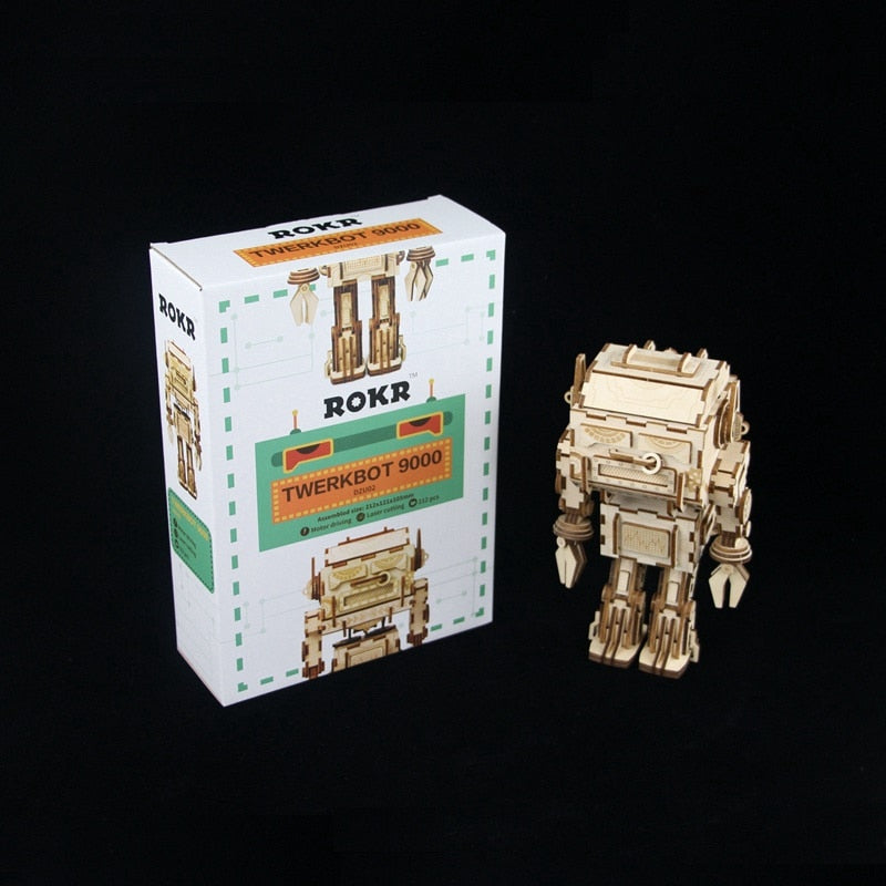 DIY Wooden Twerking Robot - 212 Piece - YOUR PLANET MATTERS