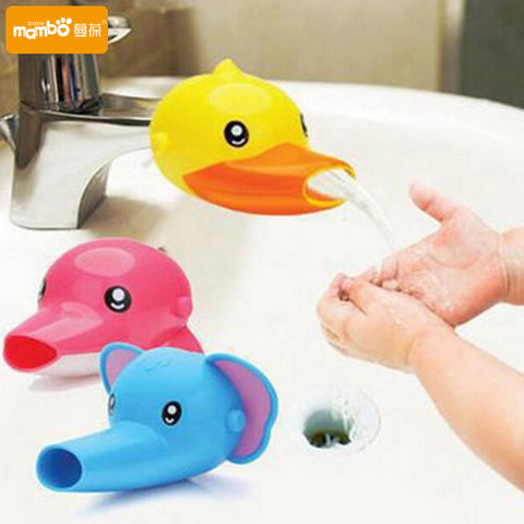 Happy Fun Animals Faucet Extender for Babies